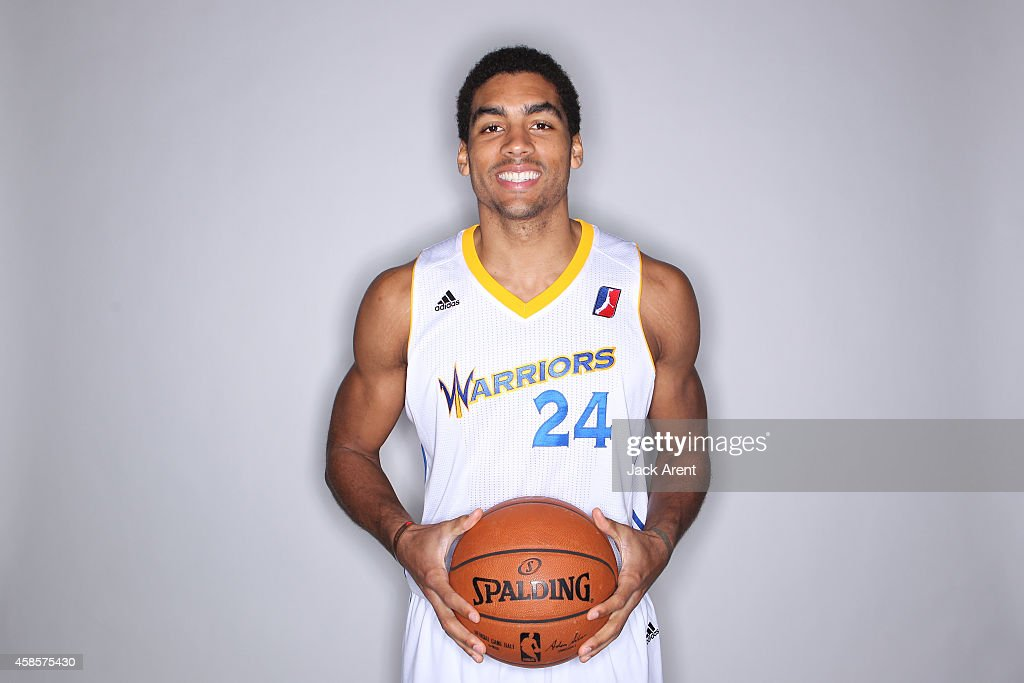 James Michael McAdoo #24 of the Santa Cruz Warriors poses for media day photos on November 6, 2014 at Kaiser Permanente Arena in Santa Cruz, California.