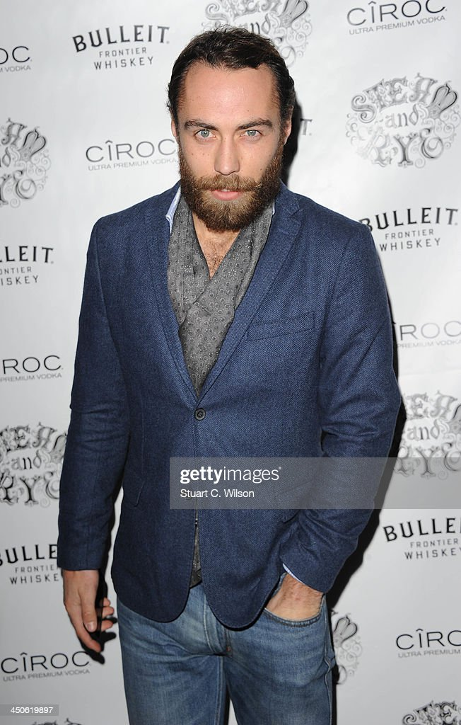 James Middleton arrives for the 'Steam and Rye' Restaurant launch party on November 19, 2013 in London, England.