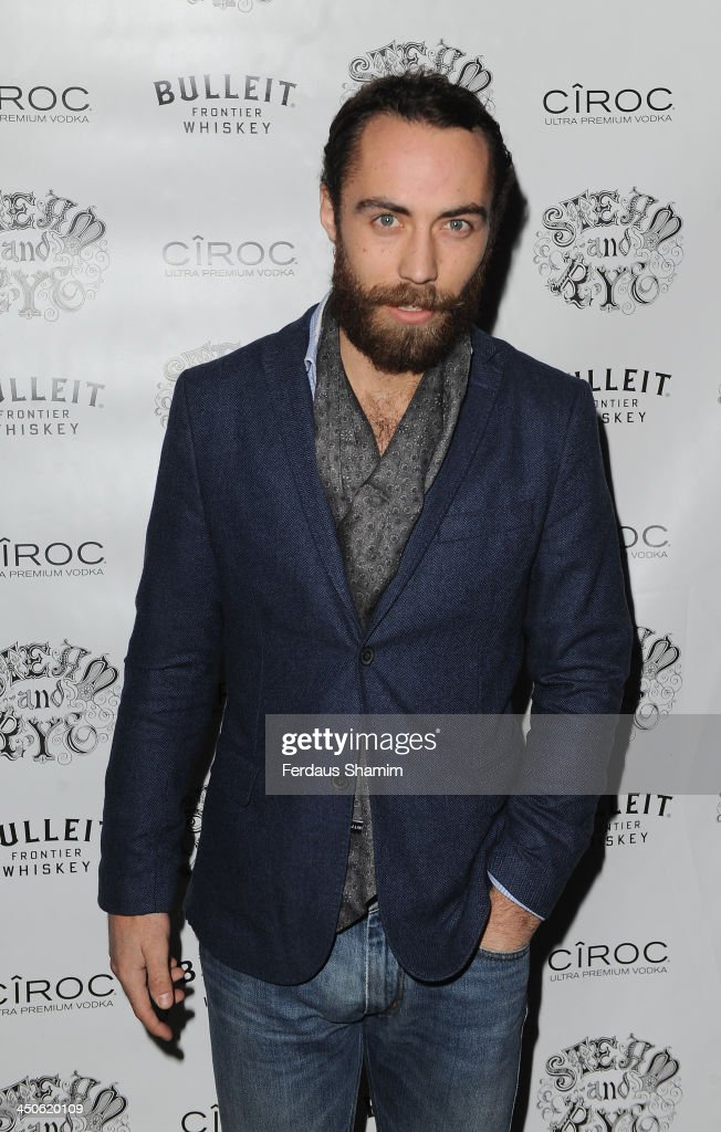 James Middleton arrives for the 'Steam and Rye' resturent launch party on November 19, 2013 in London, United Kingdom.