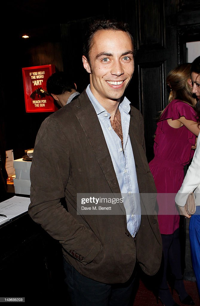 James Middleton attends the official launch of the Johnnie Walker Blue Label Club at The Scotch, Mason's Yard, on May 1, 2012 in London, England.