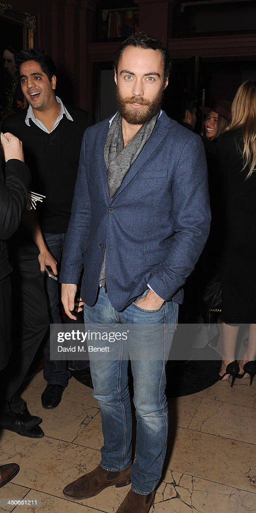 James Middleton attends the Steam And Rye launch party on November 19, 2013 in London, United Kingdom.