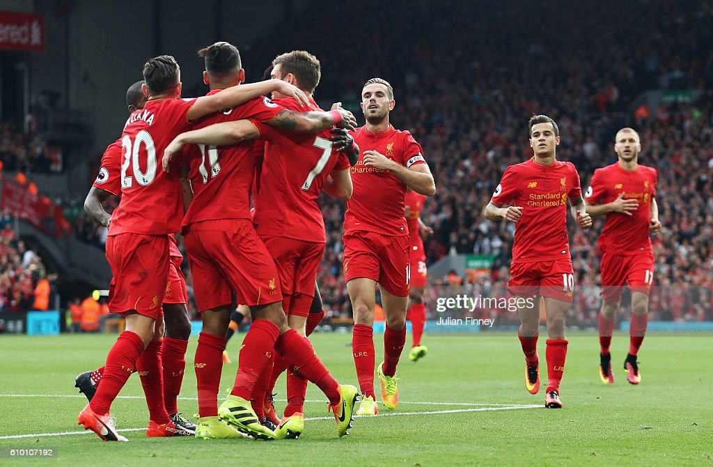 Liverpool v Hull City - Premier League : News Photo