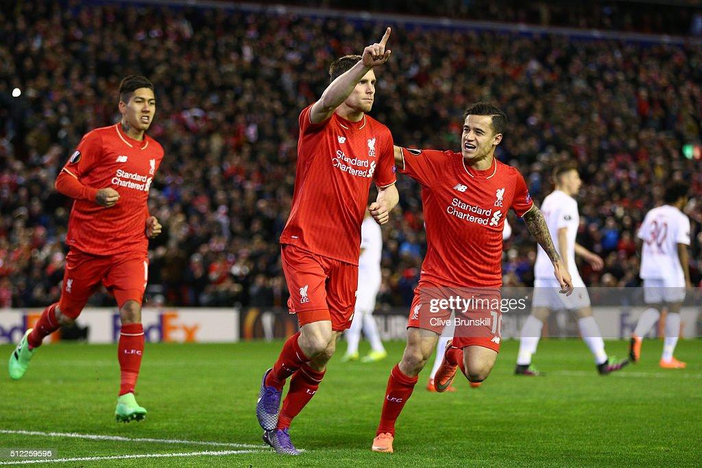 Liverpool v FC Augsburg - UEFA Europa League Round of 32: Second Leg