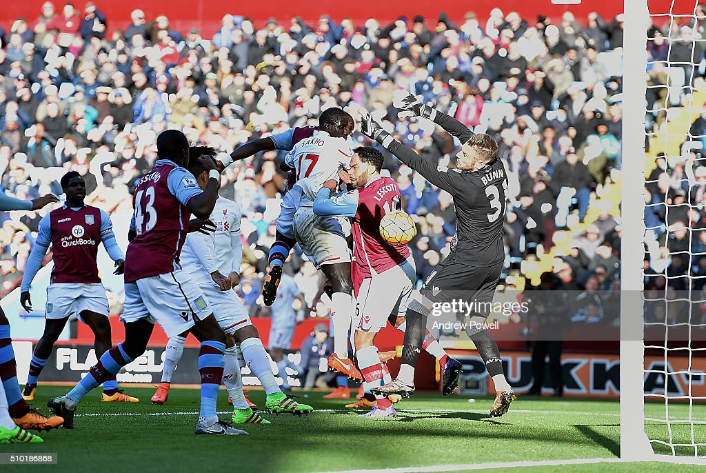 <a gi-track='captionPersonalityLinkClicked' href=/galleries/search?phrase=James+Milner&family=editorial&specificpeople=214576 ng-click='$event.stopPropagation()'>James Milner</a> (Not Pictured) of Liverpool scores the second during the Barclays Premier League match between Aston Villa and Liverpool at Villa Park on February 14, 2016 in Birmingham, England.
