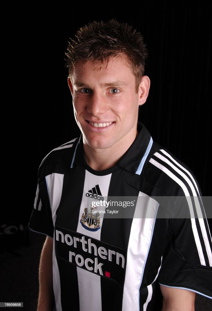 James Milner poses during a Newcastle United photocall on September 21, 2007 in Newcastle, United Kingdom.