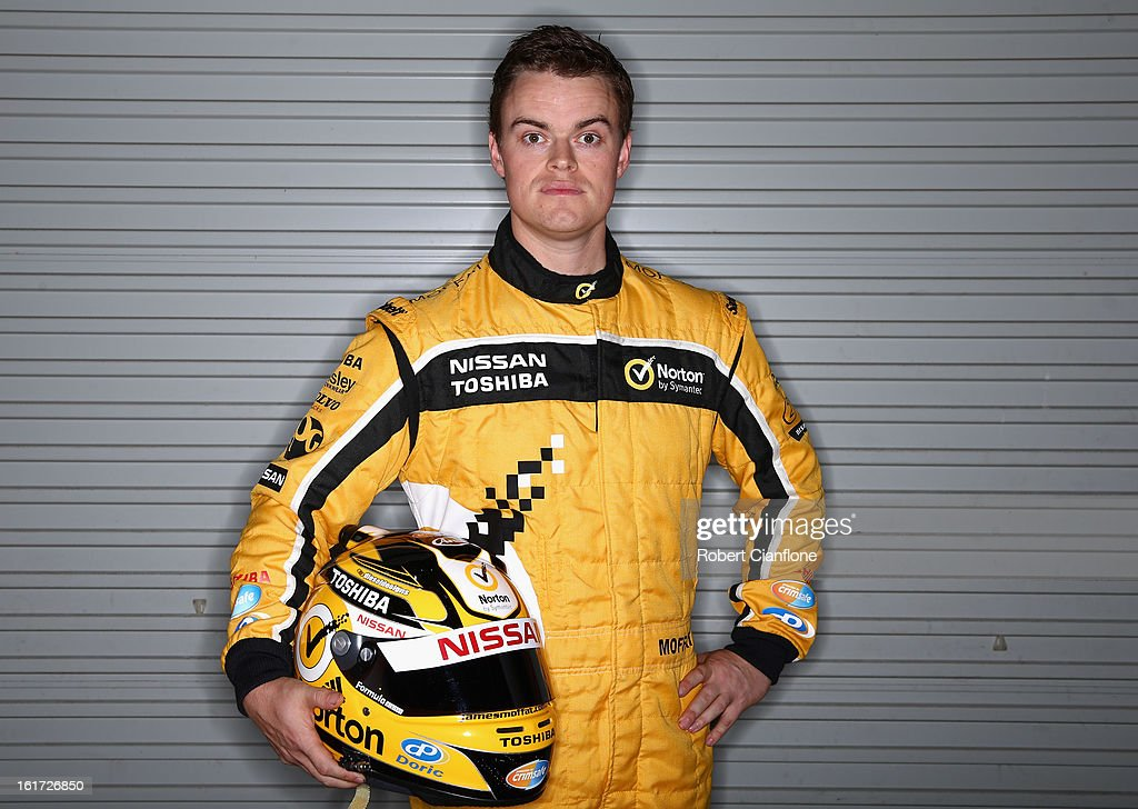 James Moffat of Norton 360 Racing poses during a V8 Supercars driver portrait session at Eastern Creek Raceway on February 15, 2013 in Sydney, Australia.