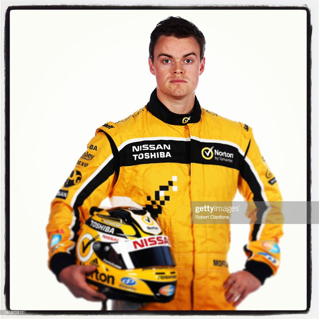 James Moffat of Norton 360 Racing poses during a V8 Supercars driver portrait session at Eastern Creek on February 15, 2013 in Sydney, Australia.