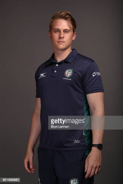 James Molyneux of London Irish poses for a portrait during the London Irish squad photo call for the 20172018 Aviva Premiership Rugby season on...