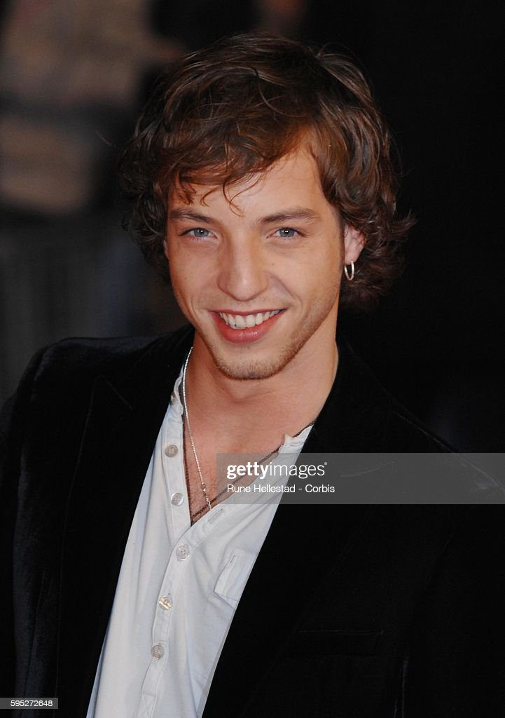 James Morrison arrives for the Brit Awards at the Earls Court Arena in London