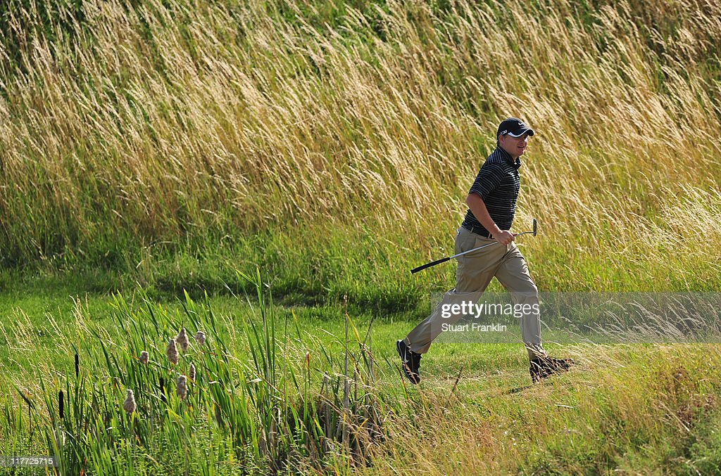 James Morrison of England in action during the first round of The Open de France presented by Alstom at the Golf National Golf Club on June 30 2011...