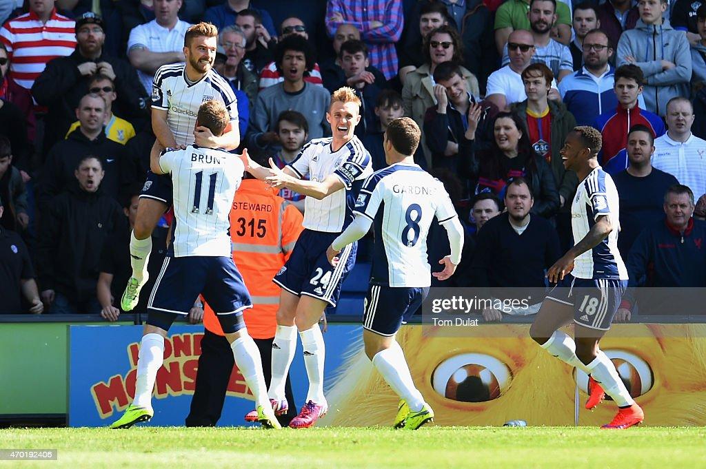 Crystal Palace v West Bromwich Albion - Premier League
