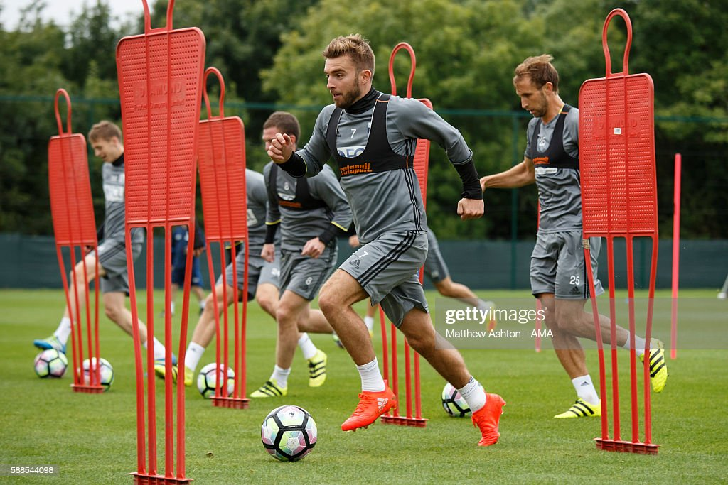 West Bromwich Albion Training Session