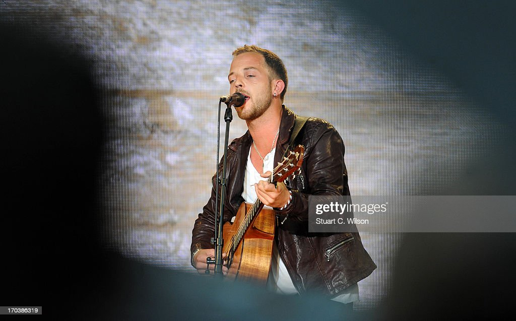 James Morrison performing at agit8 at Tate Modern, ONE's campaign ahead of the G8 on June 12, 2013 in London, England.