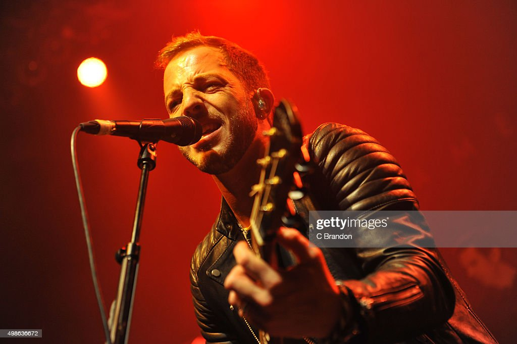 James Morrison performs on stage at the O2 Shepherd's Bush Empire on November 24 2015 in London England