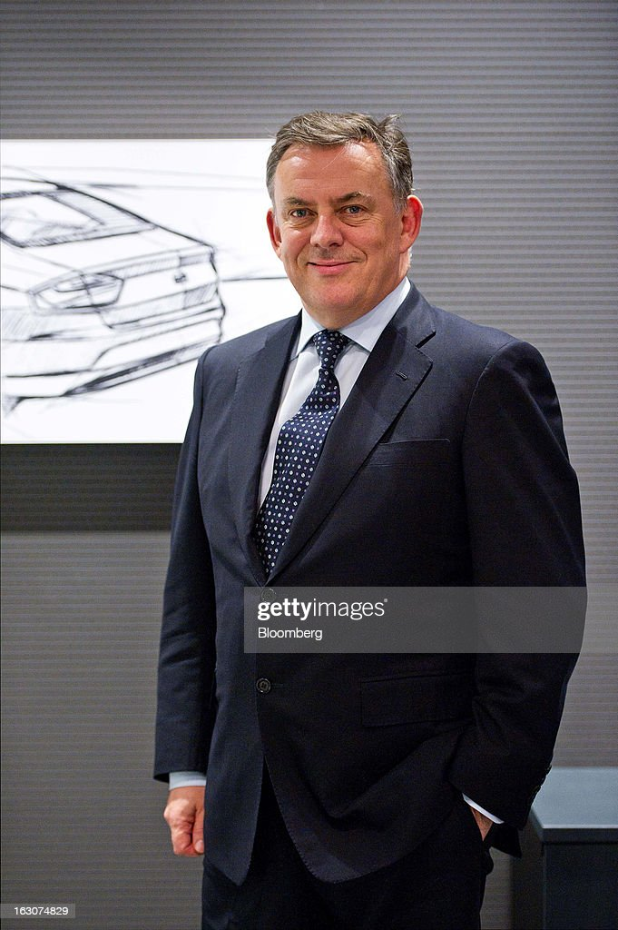 James Muir, head of Seat SA, poses for a photograph at the Seat SA headquarters in Martorell, Spain, on Thursday Feb. 28, 2013. Seat will invest 300 million euros a year in the next five years and renew its range of models, Efe said, citing an interview with Muir. Photographer: David Ramos/Bloomberg via Getty Images