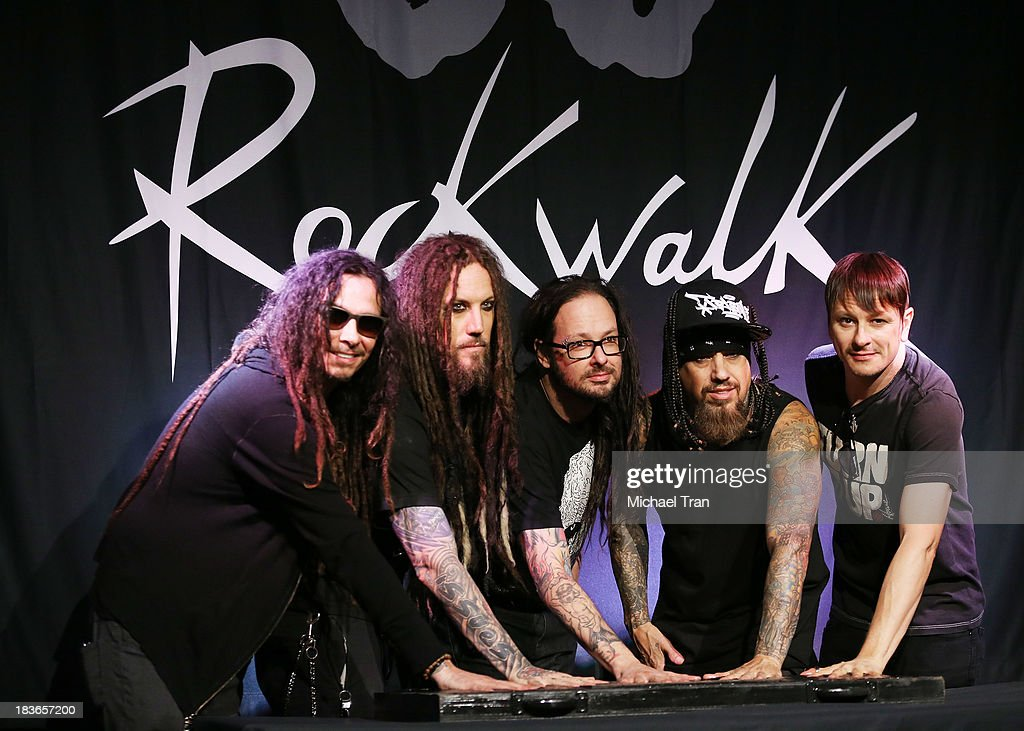 Korn Inducted Into Guitar Center's RockWalk