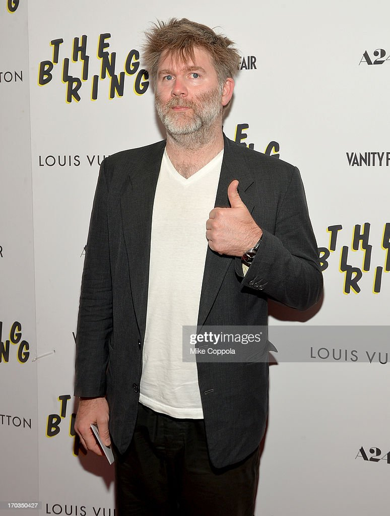 <a gi-track='captionPersonalityLinkClicked' href=/galleries/search?phrase=James+Murphy+-+Electronic+Musician&family=editorial&specificpeople=1491022 ng-click='$event.stopPropagation()'>James Murphy</a> attends 'The Bling Ring' screening at Paris Theatre on June 11, 2013 in New York City.