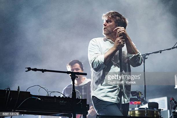 James Murphy from LCD Soundsystem performs at We Love Green Festival Day 01 on June 4 2016 in Paris France