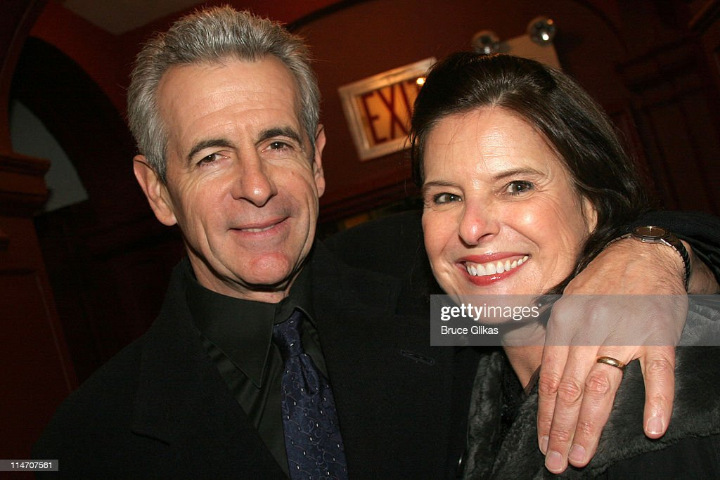 James Naughton and wife Pam Naughton during Sarah Jones' 'Bridge and Tunnel' Broadway Opening Night Arrivals at Helen Hayes Theatre in New York City...