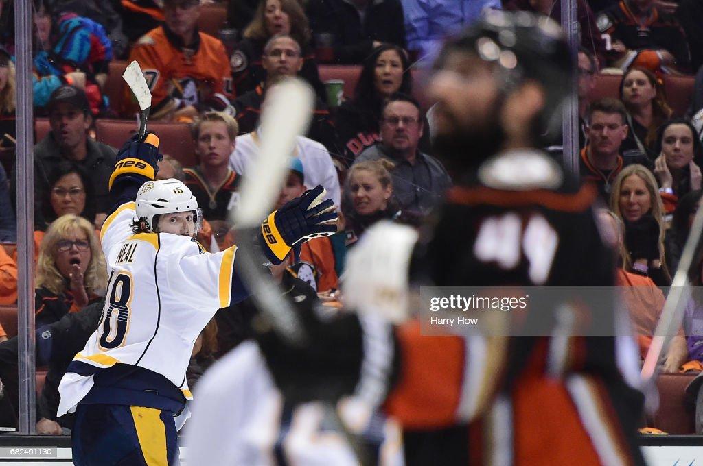 Nashville Predators v Anaheim Ducks - Game One