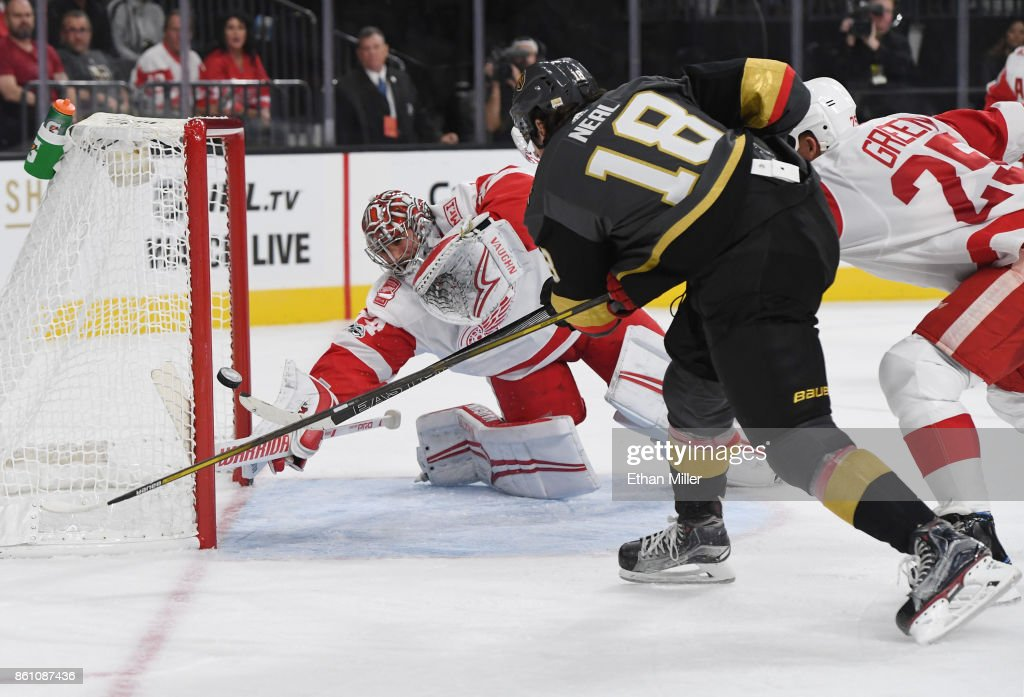 Detroit Red WIngs v Vegas Golden Knights