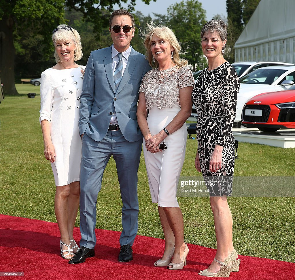 <a gi-track='captionPersonalityLinkClicked' href=/galleries/search?phrase=James+Nesbitt&family=editorial&specificpeople=211175 ng-click='$event.stopPropagation()'>James Nesbitt</a> (2,R) and sisters Kathryn Nesbitt, Andrea Nesbitt and Margaret Nesbitt attend day one of the Audi Polo Challenge at Coworth Park on May 28, 2016 in London, England.