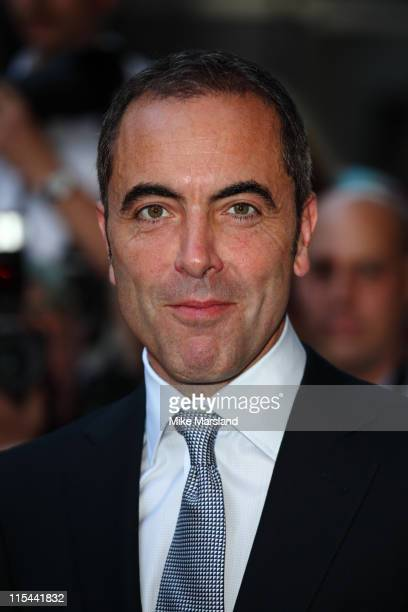 James Nesbitt arrives for the 2009 GQ Men Of The Year Awards at The Royal Opera House on September 8 2009 in London England