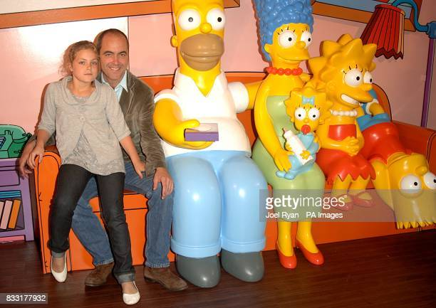 James Nesbitt arrives for the UK Premiere of The Simpsons Movie at the Vue Cinema The O2 Peninsula Square London