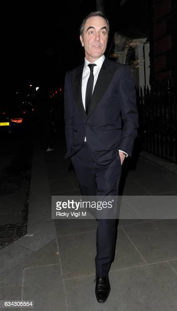 James Nesbitt attends BAFTAs 2017 Dunhill Celebrating Gentlemen in Film on February 8 2017 in London England