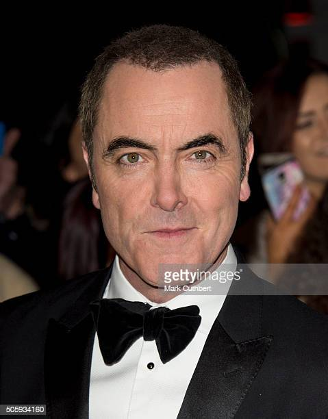 James Nesbitt attends the 21st National Television Awards at The O2 Arena on January 20 2016 in London England