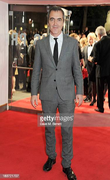 James Nesbitt attends the European Premiere of 'Captain Phillips' on the opening night of the 57th BFI London Film Festival at Odeon Leicester Square...