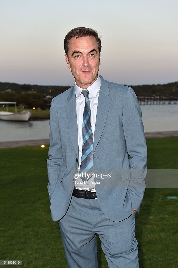 James Nesbitt attends the Gala Dinner during The Costa Smeralda Invitational golf tournament at Pevero Golf Club - Costa Smeralda on June 25, 2016 in Olbia, Italy.