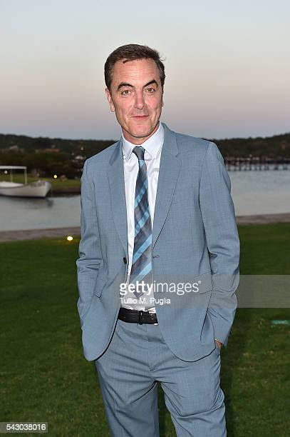 James Nesbitt attends the Gala Dinner during The Costa Smeralda Invitational golf tournament at Pevero Golf Club Costa Smeralda on June 25 2016 in...