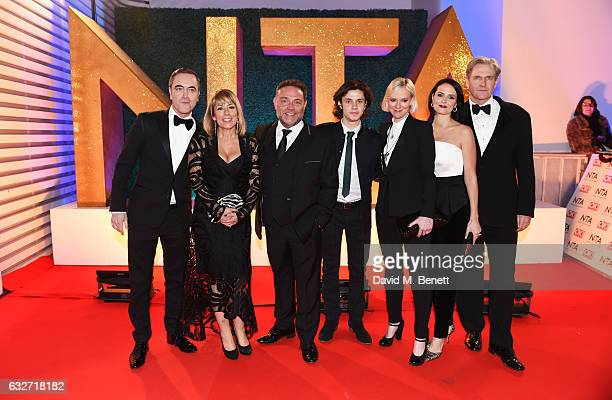 James Nesbitt Fay Ripley John Thomson Ceallach Spellman Hermione Norris Leanne Best and Robert Bathurst of 'Cold Feet' attend the National Television...