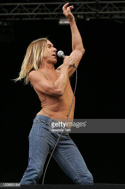 James Newell Osterberg Jr aka Iggy Pop of Iggy and the Stooges