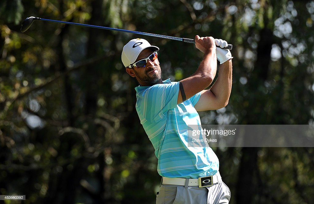 <a gi-track='captionPersonalityLinkClicked' href=/galleries/search?phrase=James+Nitties&family=editorial&specificpeople=220320 ng-click='$event.stopPropagation()'>James Nitties</a> of Australia hits his drive on the sixth hole during the second round of the WinCo Foods Portland Open at the Pumpkin Ridge Golf Club on August 22, 2014 in North Plains, Oregon.