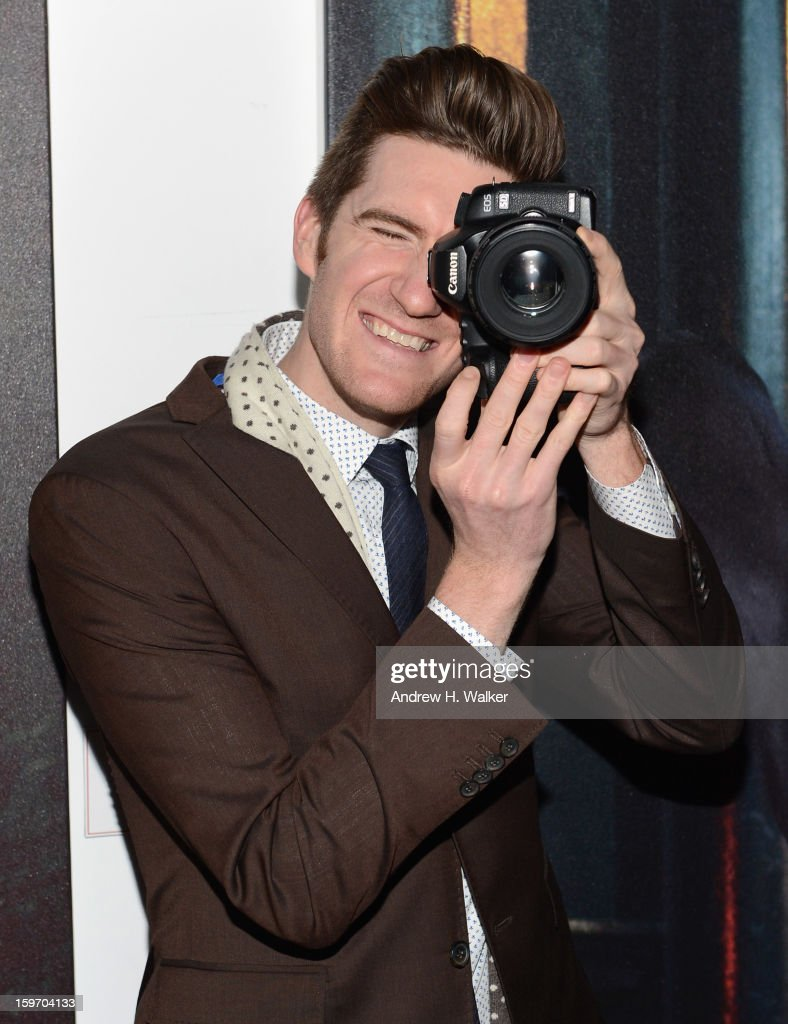 James Nord attends the Stella Artois launch of the Timeless Beauty Campaign shot by legendary photographer, Annie Leibovitz at Village at the Lift on January 18, 2013 in Park City, Utah.