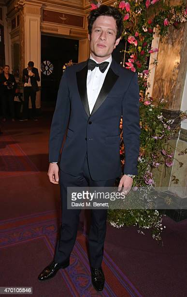 James Norton attends The Backstage Gala in aid of The Naked Heart Foundation at The London Coliseum on April 17 2015 in London England
