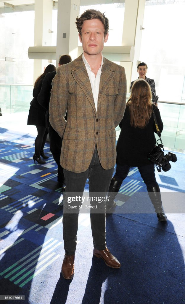 James Norton attends the First Light Awards at Odeon Leicester Square on March 19, 2013 in London, England.