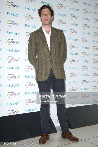 James Norton attends the First Light Awards at Odeon Leicester Square on March 19 2013 in London England