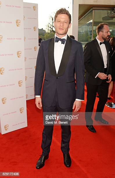 James Norton attends the House Of Fraser British Academy Television Awards 2016 at the Royal Festival Hall on May 8 2016 in London England