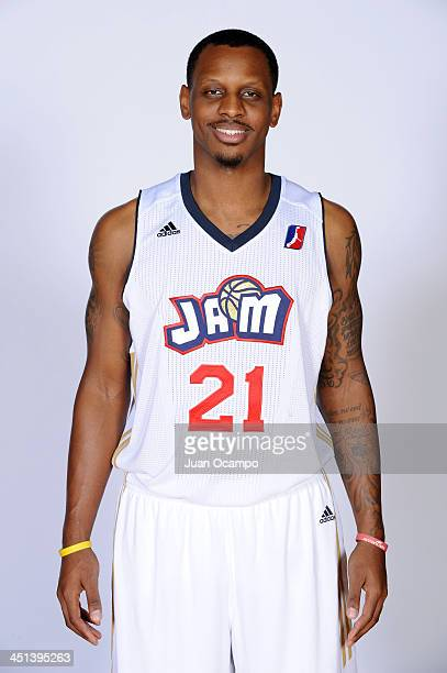 James Nunnally of the Bakersfield Jam poses for a headshot during media day on November 20 2013 at Dignity Health Event Center in Bakersfield...