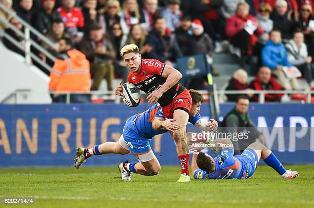 James O Connor of Toulon during the European Champions Cup match between Toulon and Scarlets on December 11 2016 in Toulon France
