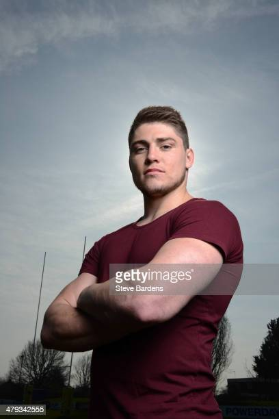 James O'Connor of London Irish poses for a portrait during a Premiership Rugby player feature on March 12 2014 in Sunbury England
