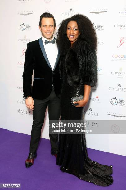 James O'Keefe and Beverley Knight attending the Global Gift Gala held at The Corinthia Hotel in London PRESS ASSOCIATION Photo Picture date Saturday...