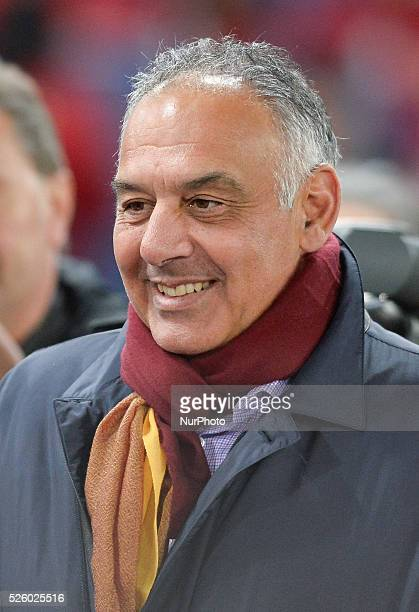 James Pallotta during the Italian Serie A football match AS Roma vs AC Fiorentina at the Olympic Stadium in Rome on march 04 2016