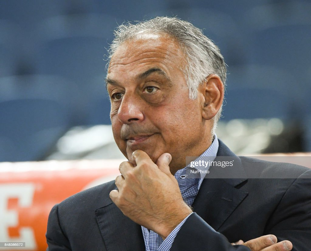 James Pallotta during the Italian Serie A football match between A.S. Roma and F.C. Hellas Verona at the Olympic Stadium in Rome, on september 16, 2017.