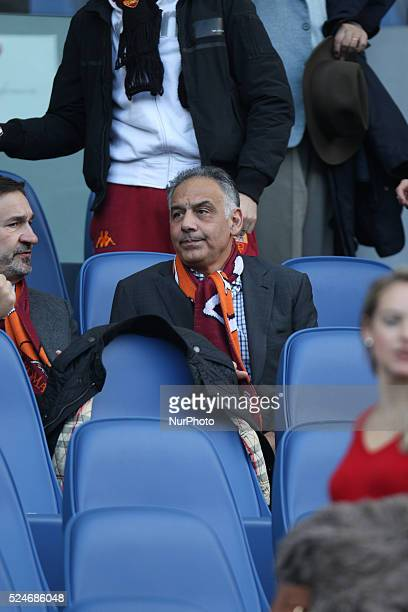 James Pallotta during the Serie A match between AS Roma and Fiorentina at Olympic Stadium on December 8 2013 in Rome Italy Photo Manuel Romano
