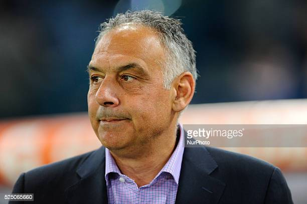 James Pallotta during the Serie A match between AS Roma and Juventus FC at Olympic Stadium Italy on March 02 2015