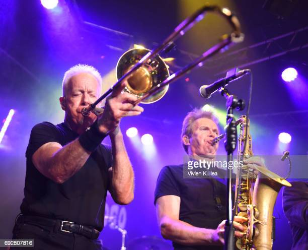 James Pankow of Chicago performs For SiriusXM Live From Whisky a Go Go on June 5 2017 in West Hollywood California